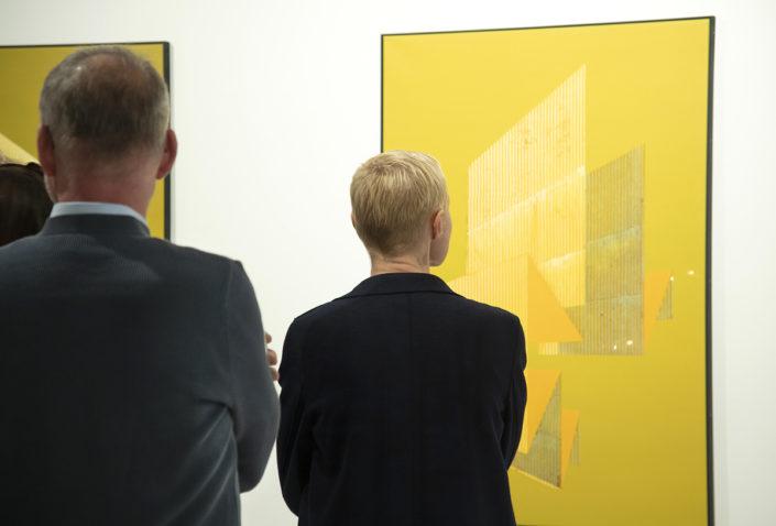 Ausstellungseröffnung Nico Sawatzki September 2019